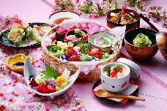春の花籠膳