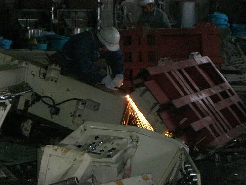 愛知県春日井市の機械解体