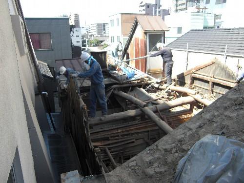 名古屋市中村区N様邸解体工事