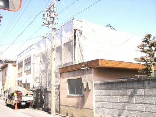 愛知県清須市のRC造建物解体工事