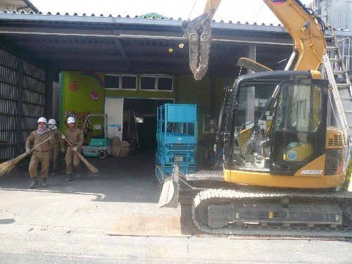 愛知県名古屋市の倉庫内装解体工事