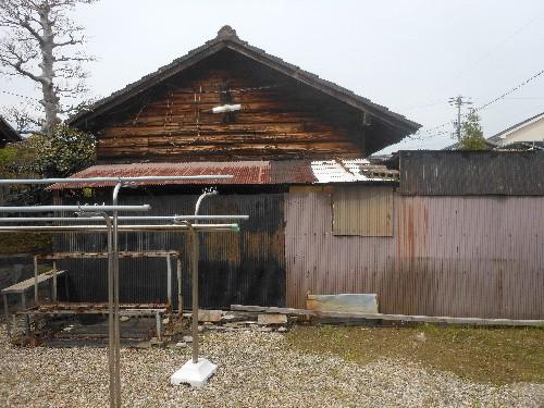 一宮市木造平屋建離れ解体工事