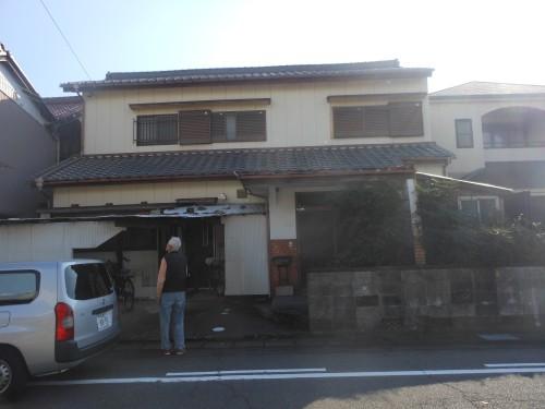 木造建物の解体(稲沢市)