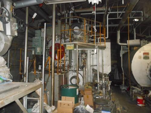 一宮市工場内機械設備解体工事