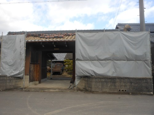 一宮市木造建物解体工事