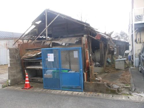 岐阜県大垣市木造建物解体工事