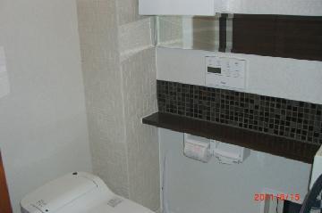 トイレ 壁のタイル施工 一戸建て