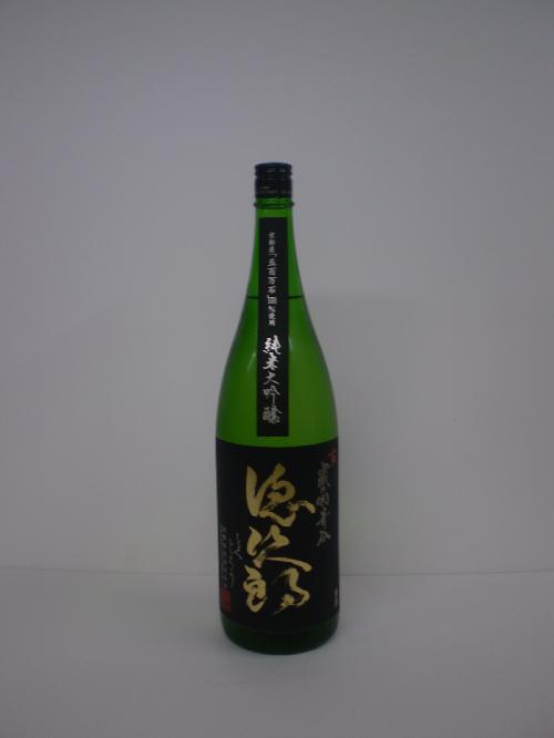 徳次郎 純米大吟醸 1800ml 城陽酒造