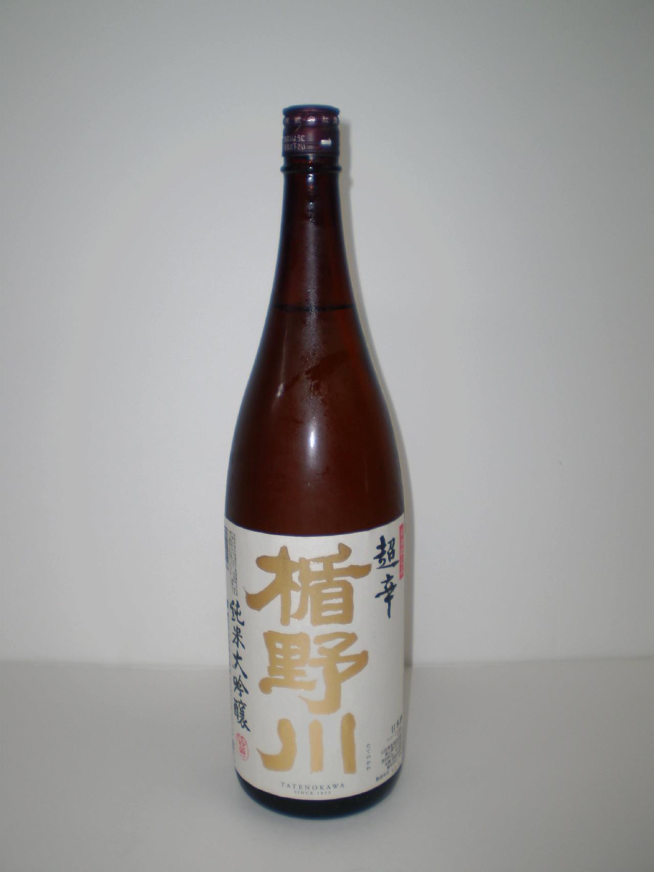 楯野川 純米大吟醸 超辛 1800ml 楯の川酒造