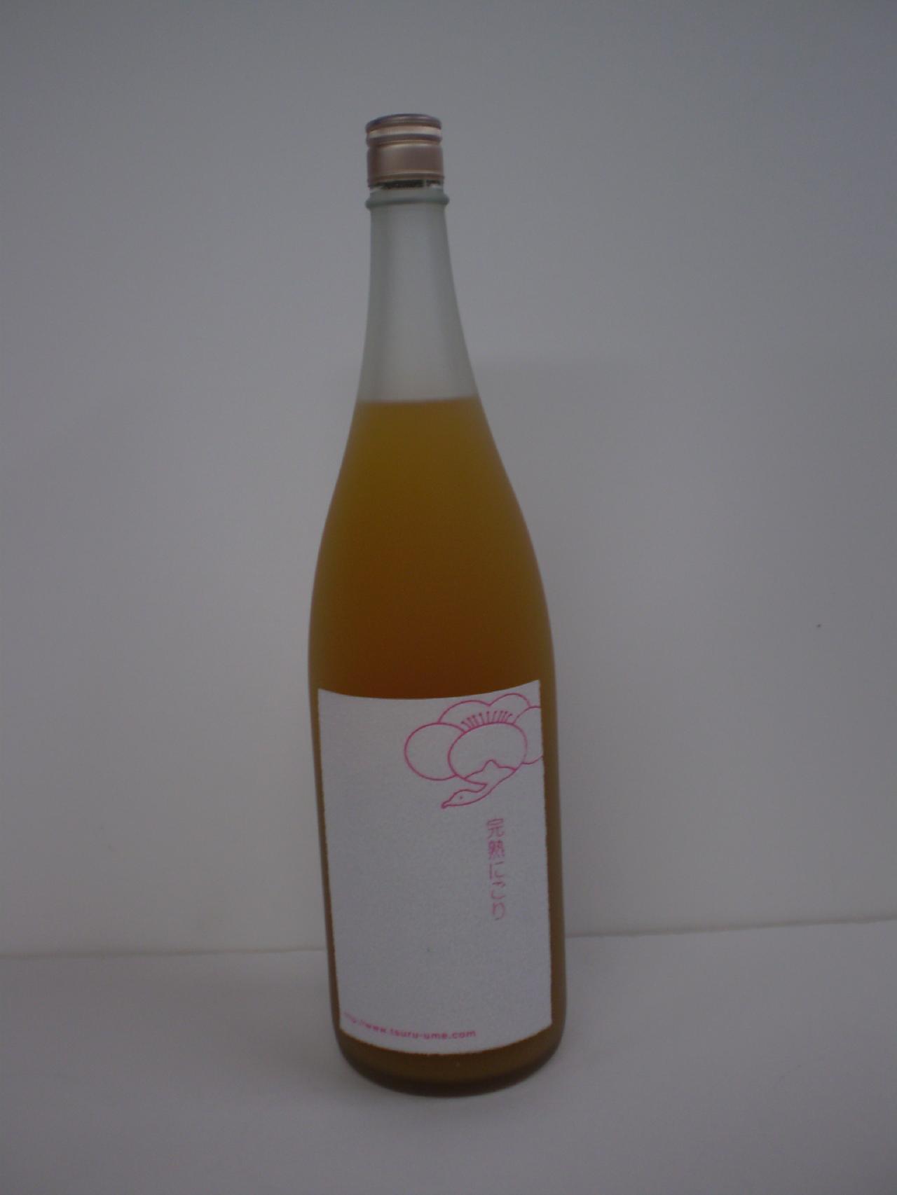 鶴梅 完熟にごり 1800ml 平和酒造