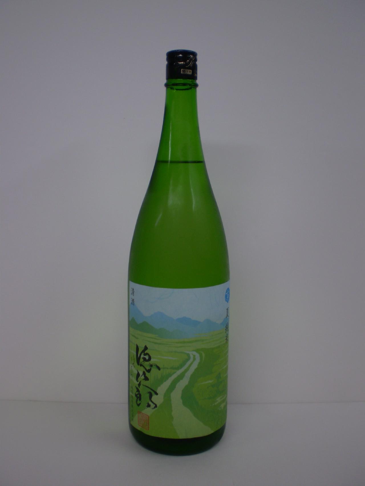 徳次郎 夏 純米 1800ml 城陽酒造