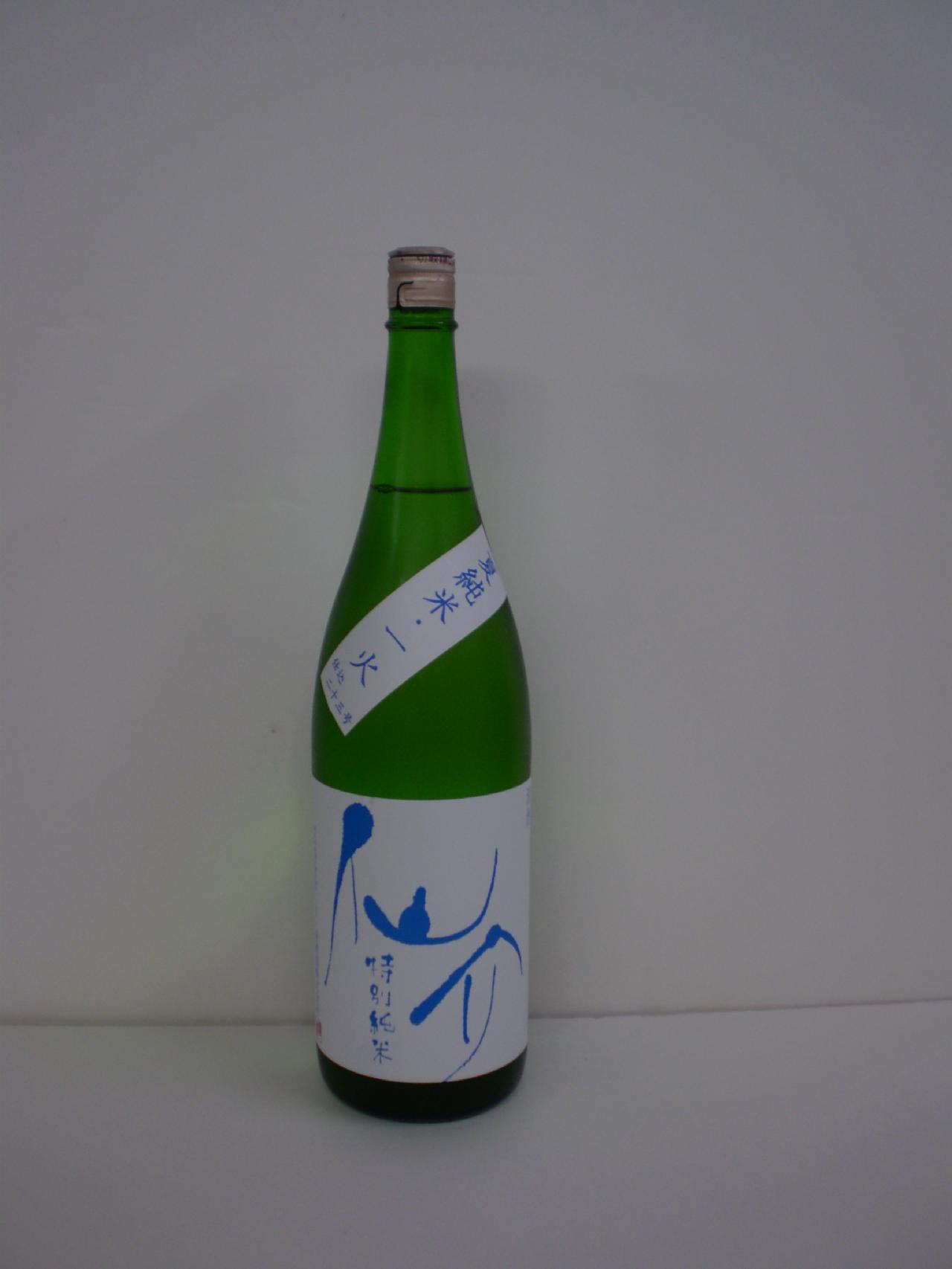 仙介 夏 特別純米 1800ml 泉酒造