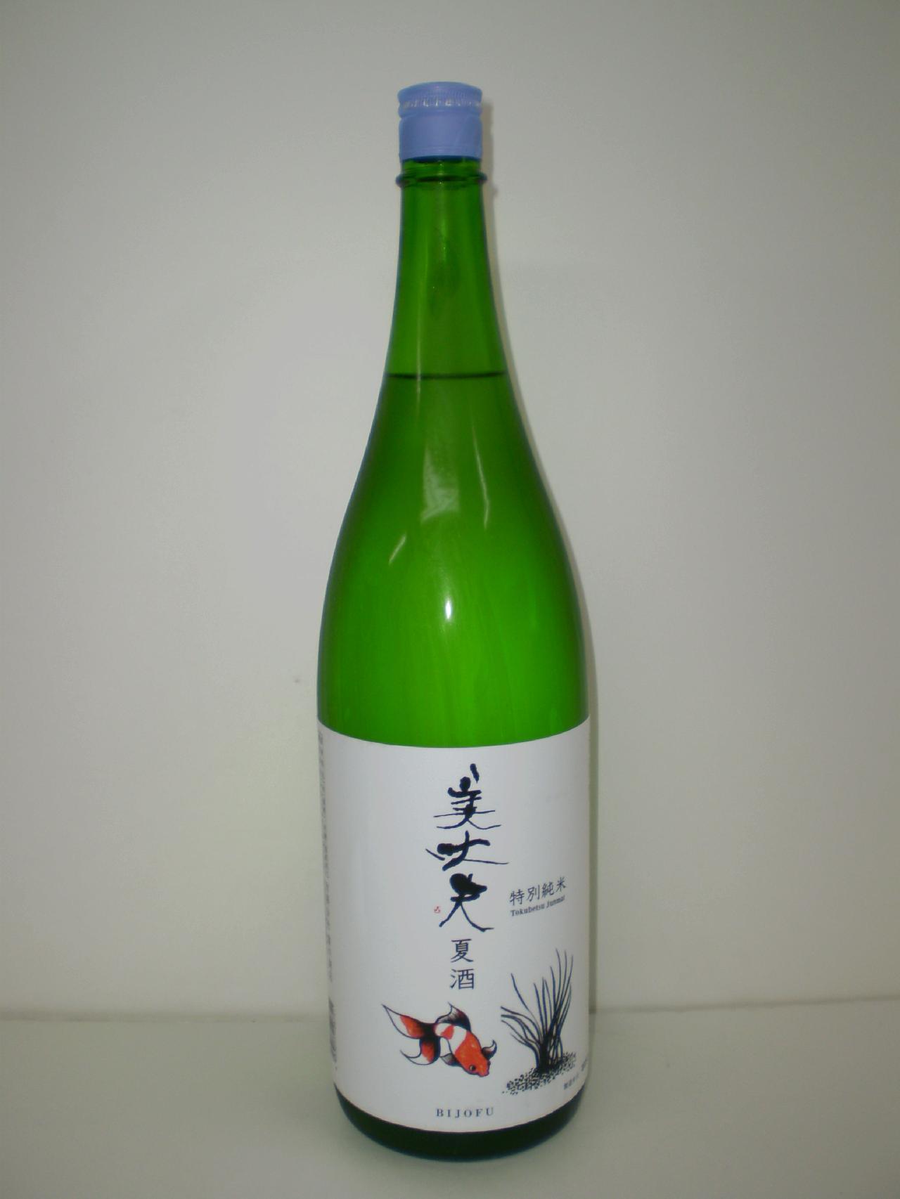 美丈夫 特別純米 夏酒 1800ml 浜川商店