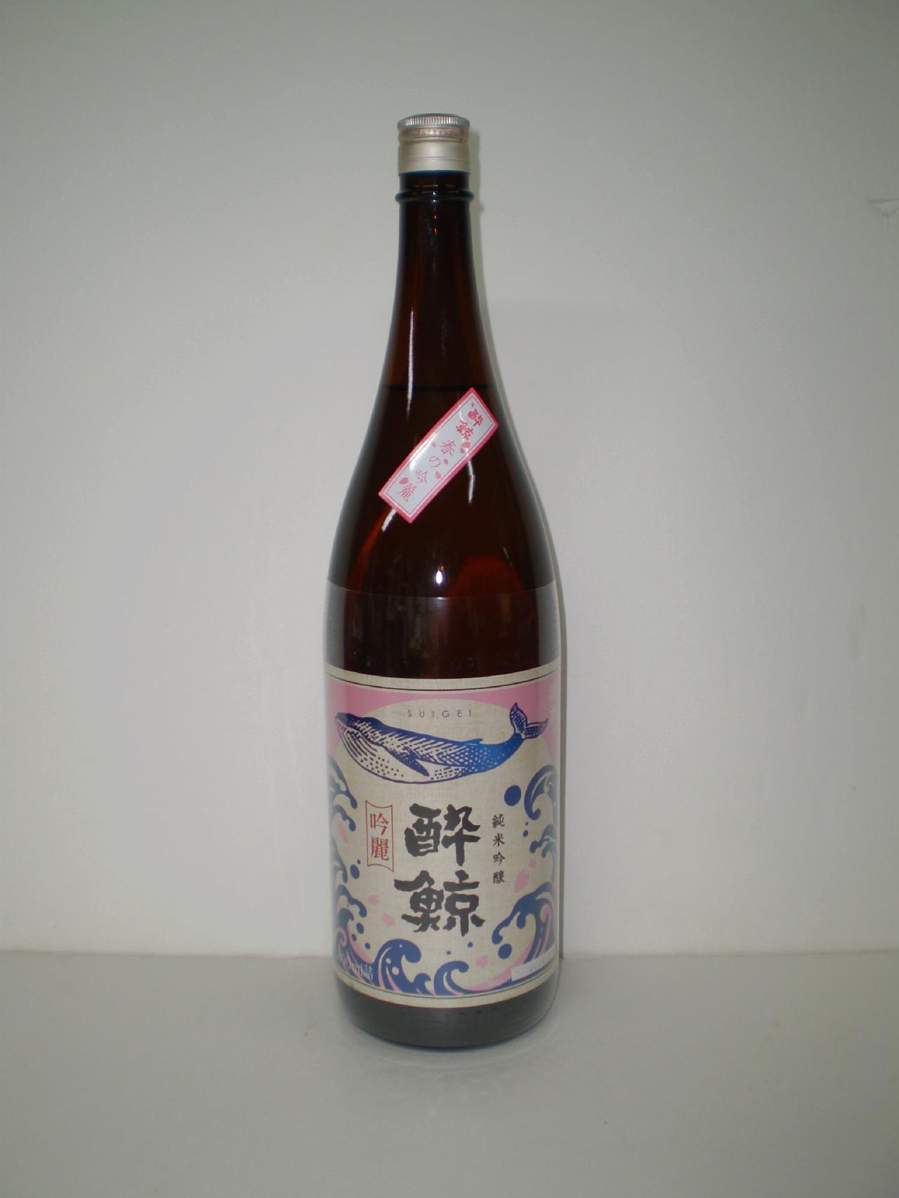 酔鯨 純米吟醸 春の吟麗 1800ml 酔鯨酒造