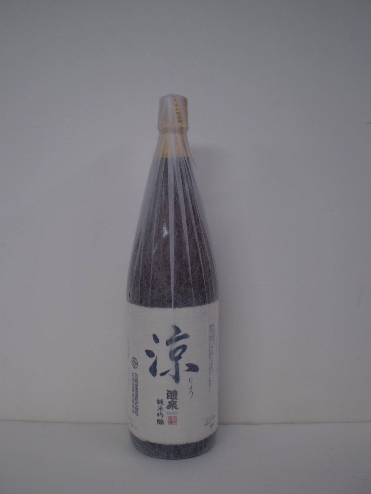 醴泉 純米吟醸 涼 1800ml 玉泉堂酒造