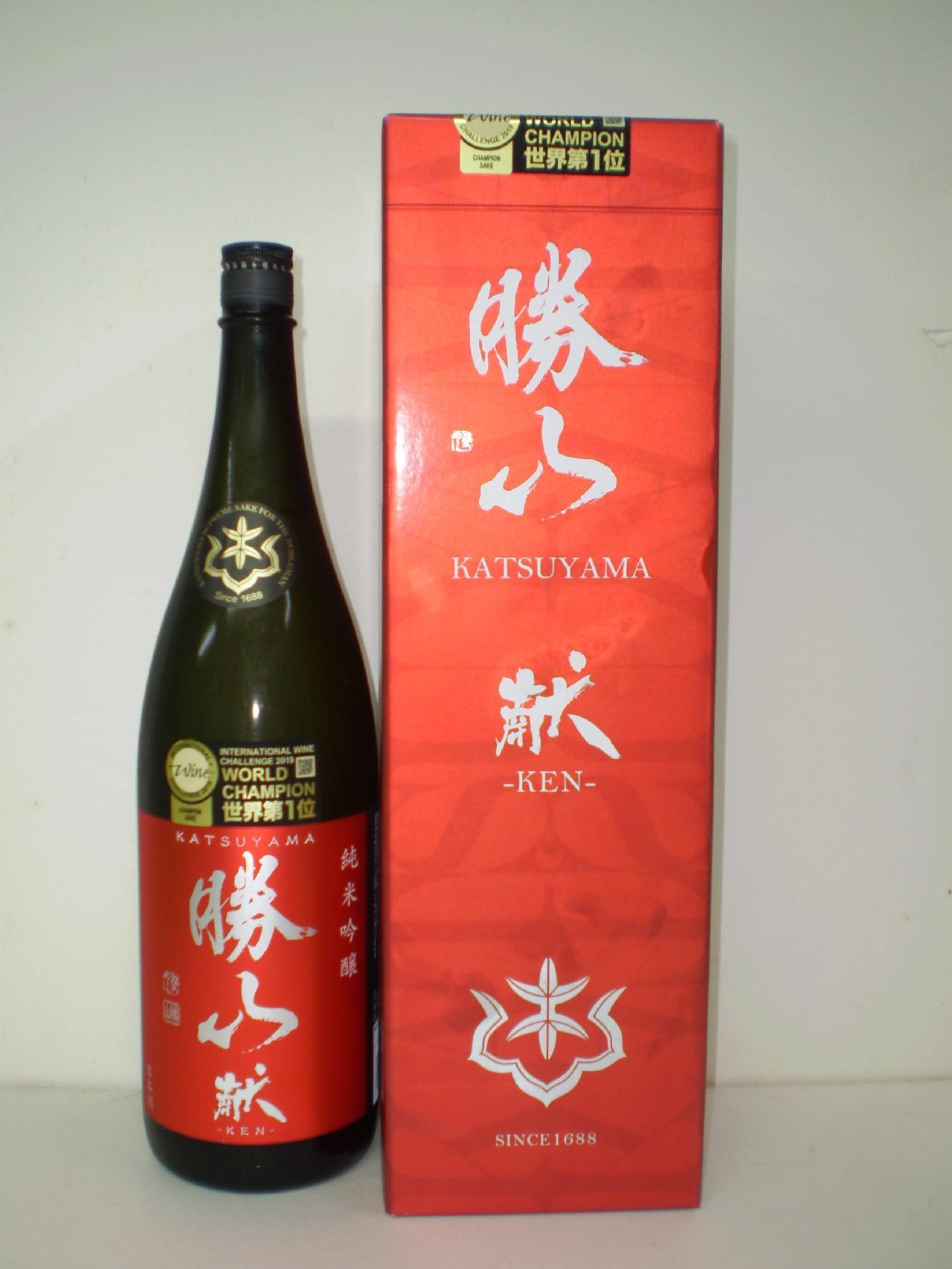 勝山 献 純米吟醸 1800ml 勝山酒造