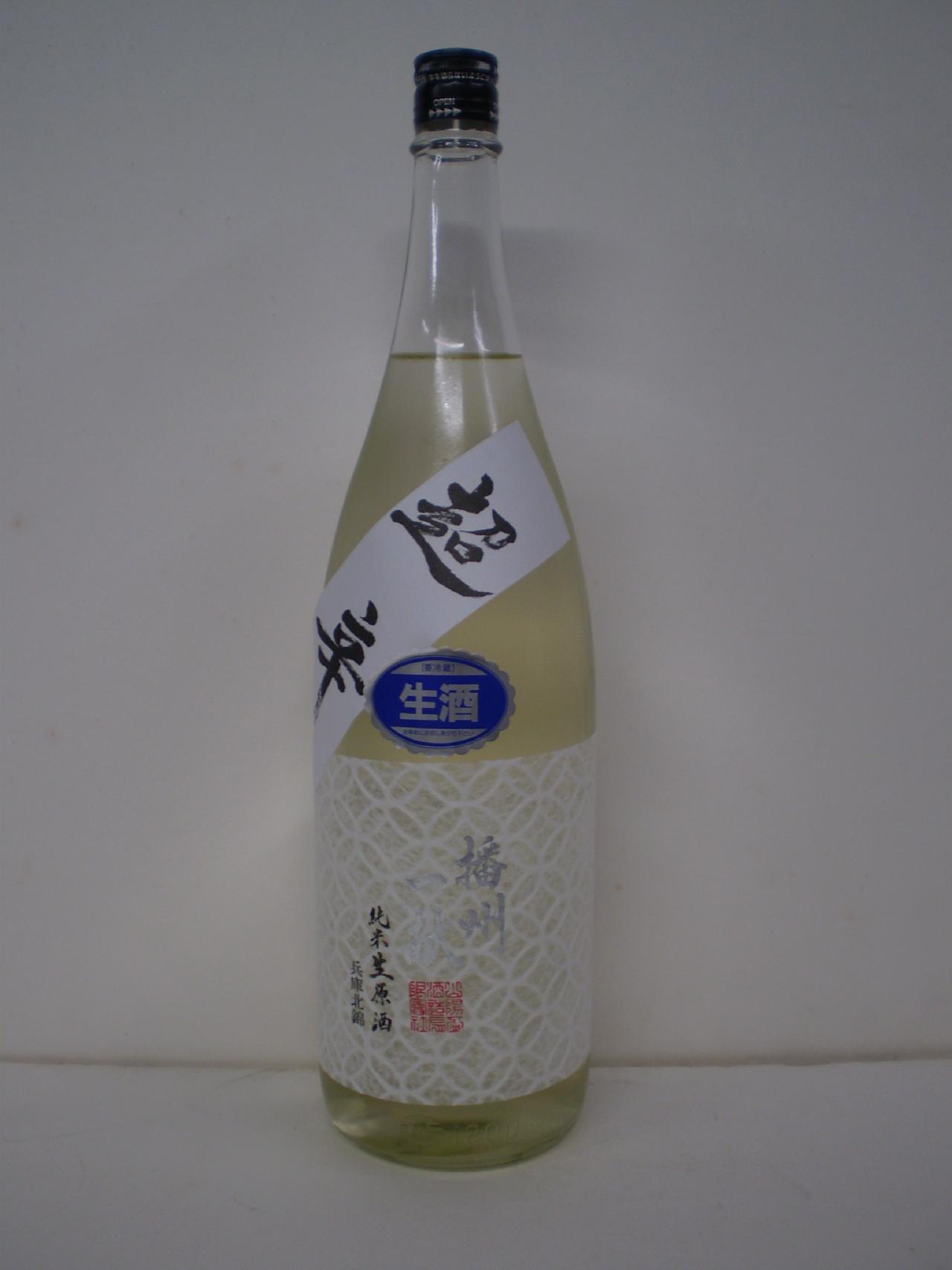 播州一献 超辛 純米生原酒 1800ml 山陽盃酒造