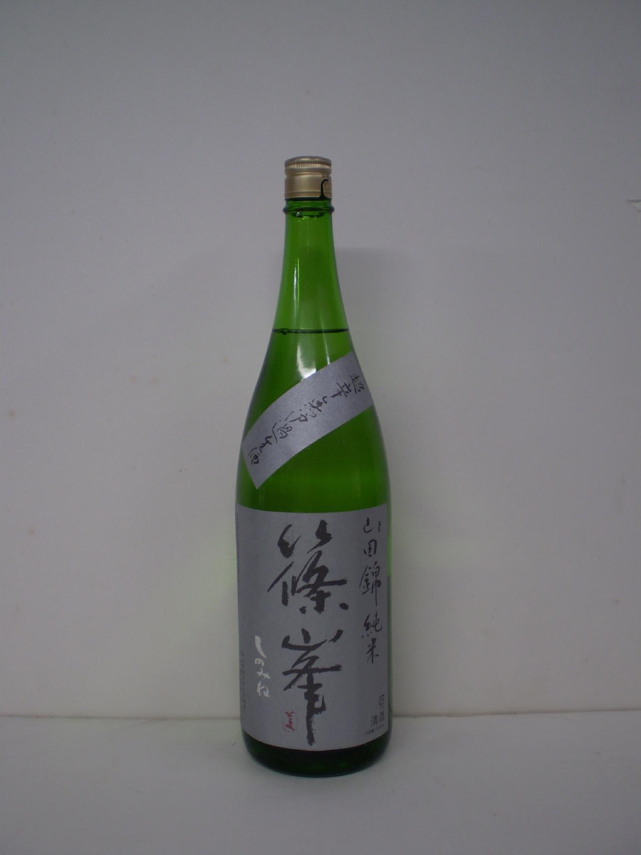 篠峯 超辛口 純米生原酒 1800ml 千代酒造