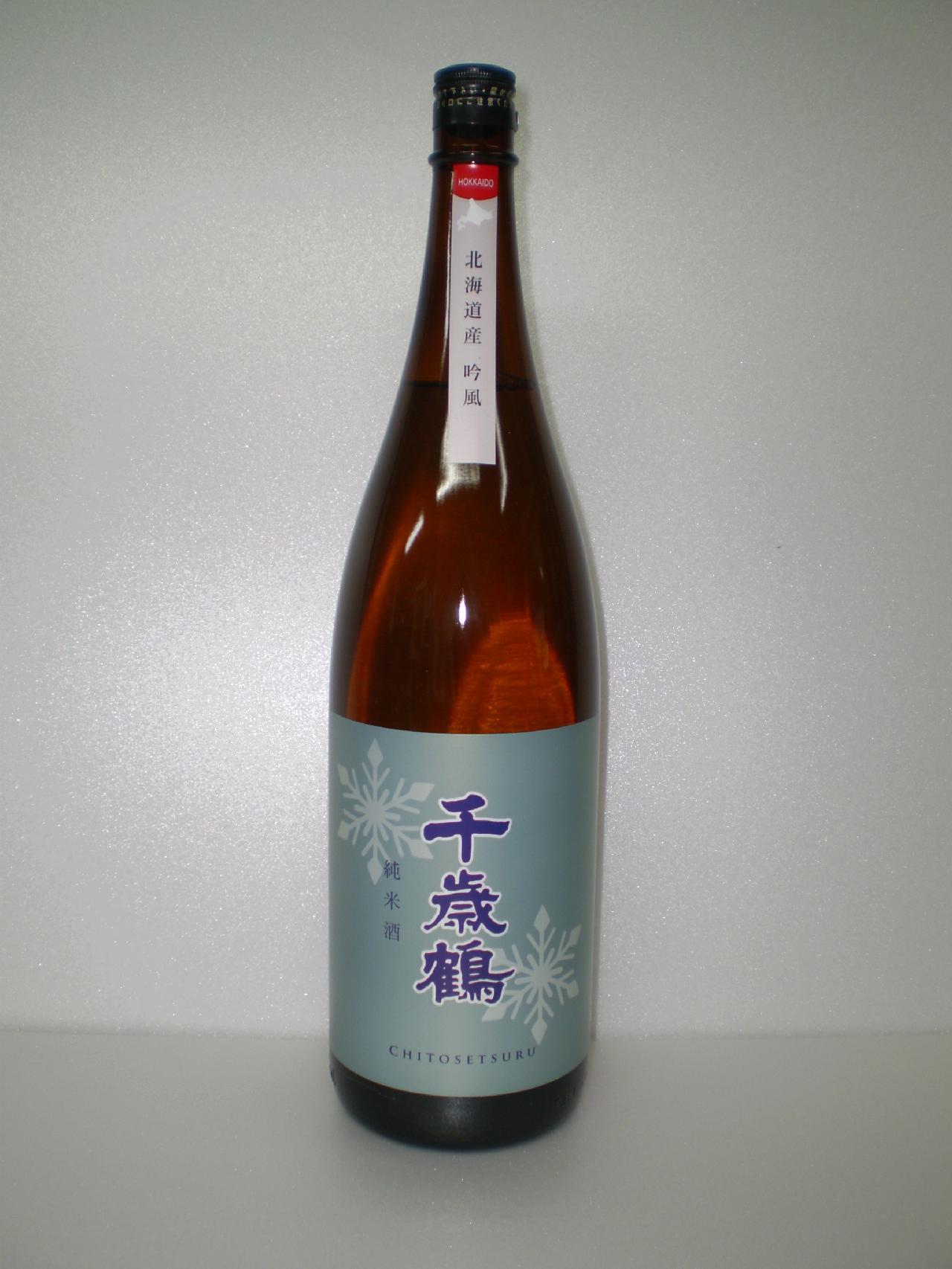 千歳鶴 純米 吟風 1800ml 日本清酒