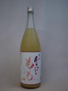 梅乃宿 あらごしもも酒 1800ml 梅乃宿酒造