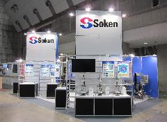 展示会Soken様設営完了!