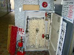 屋内消火栓ホース交換