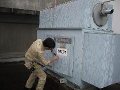 自家発電用蓄電池交換工事