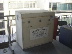緩降機の設置工事