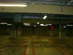 地下駐車場配線引替え工事