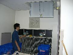 排煙ダンパー電路改修