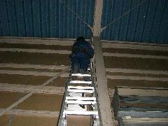 空気管引替え工事