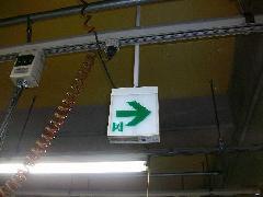 誘導灯機器交換工事