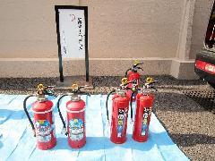 消火器放射試験