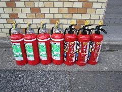 アパート消火器交換事例