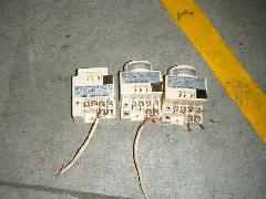 倉庫内にてスポット型熱感知器設置工事�A