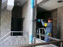 連結送水管漏水調査事例