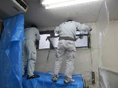 排煙窓改修工事事例その�@