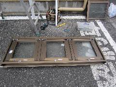 排煙窓改修工事事例その�A