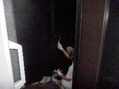 港区の飲食店にて防火戸の修理と排煙窓の修理事例