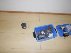 排煙窓ワイヤー修理事例