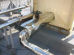 連結送水管屋上補助水槽CV・GV交換事例