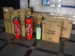 共同住宅(マンション)にて住宅用消火器交換事例