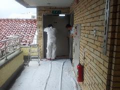 マンション管理組合様より防火戸修理依頼にて施工事例