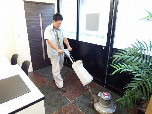 事務所/床洗浄