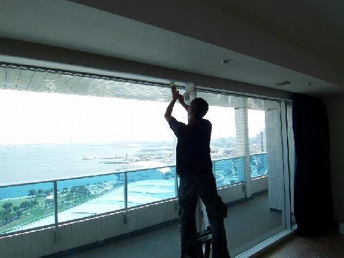 窓枠/ダイノックフィルム貼り