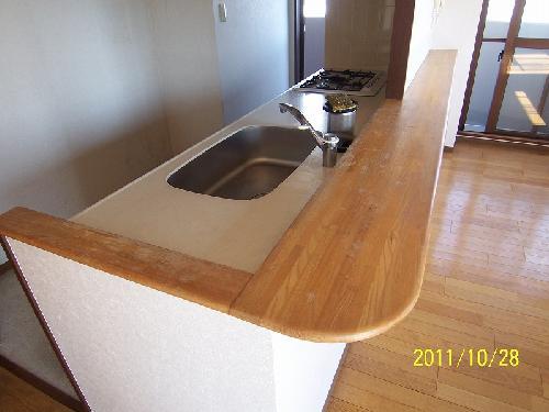 キッチンカウンター/塗り替え&コーティング
