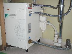 電気温水器の交換