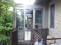 神奈川県川崎市 O様邸 テラス囲い工事