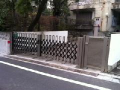 東京都目黒区 O様邸 ゲート新設工事