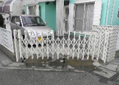 横浜市瀬谷区 S様邸 伸縮門扉改修工事